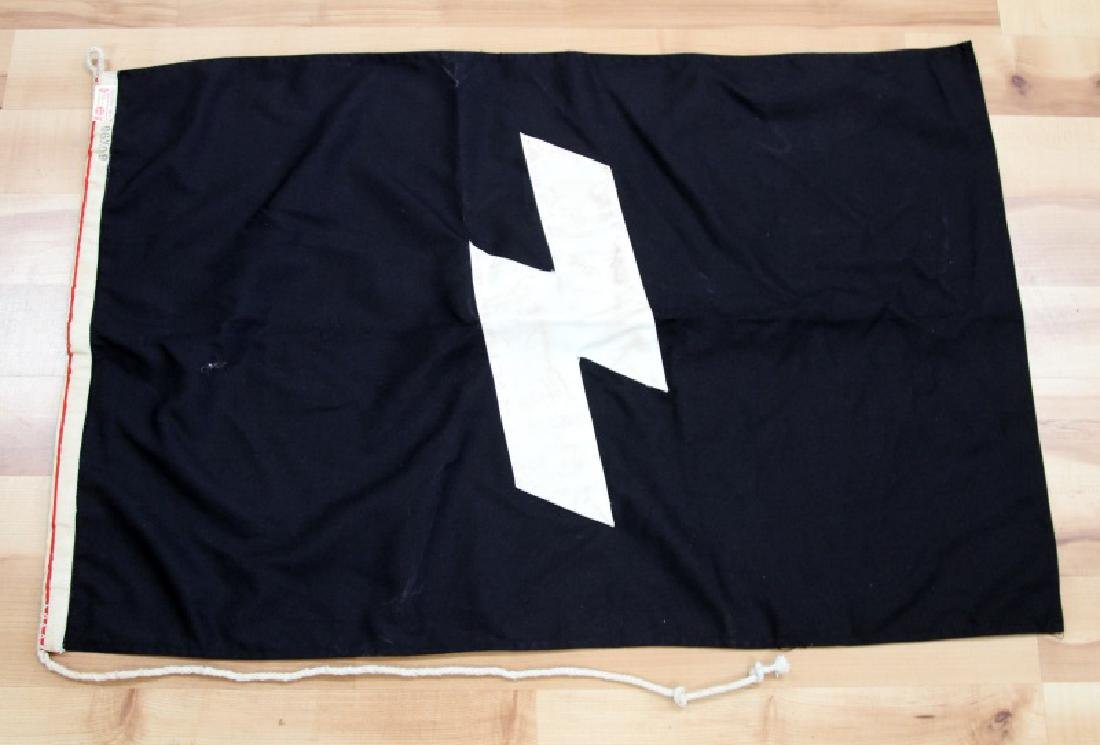 GERMAN WWII HITLER YOUTH JUGEND BANNER FLAG 23x35