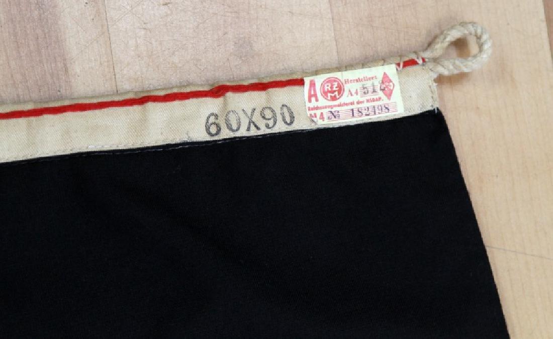 GERMAN WWII HITLER YOUTH JUGEND BANNER FLAG 23x35 - 2