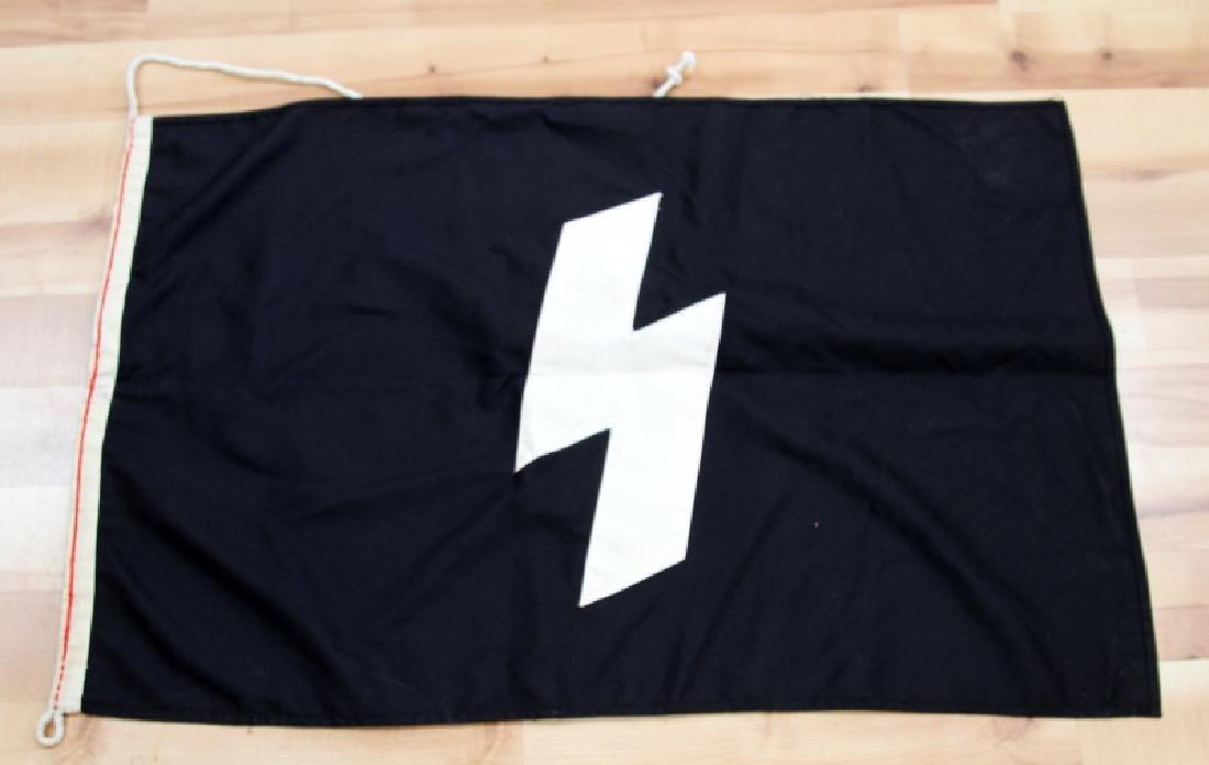 GERMAN WWII HITLER YOUTH JUGEND BANNER FLAG 23x35 - 3