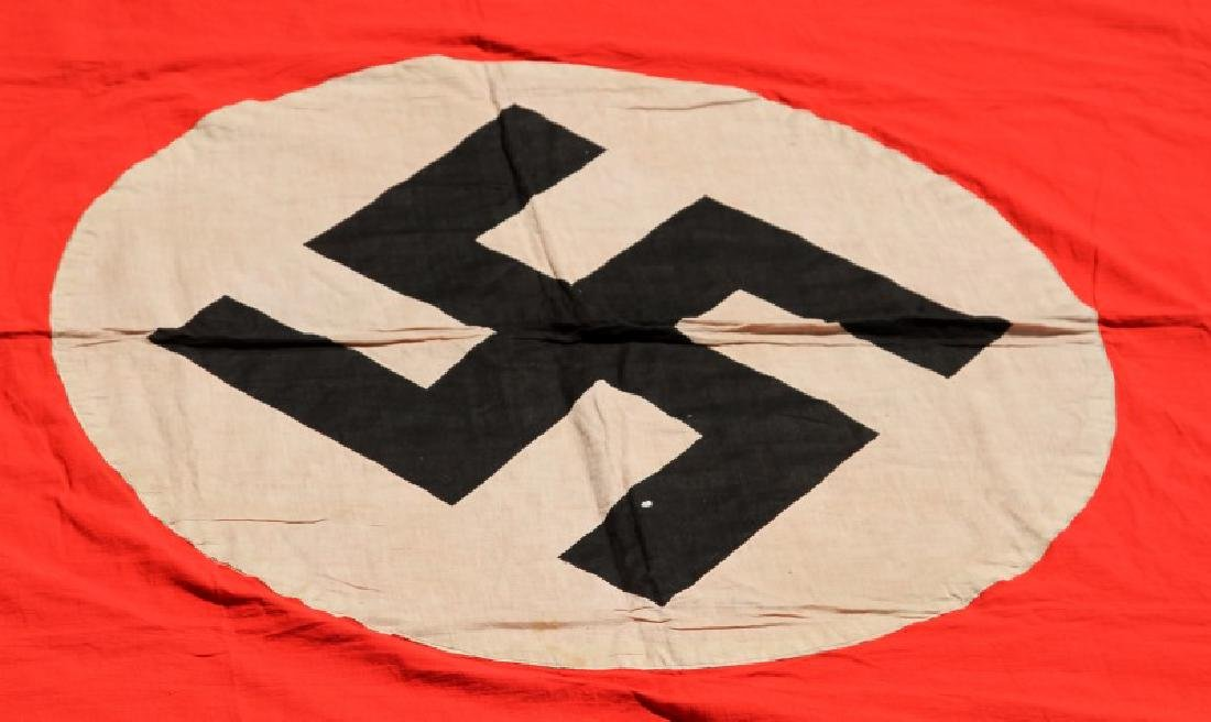 NSDAP WWII GERMAN THIRD REICH PARTY RALLY BANNER - 2