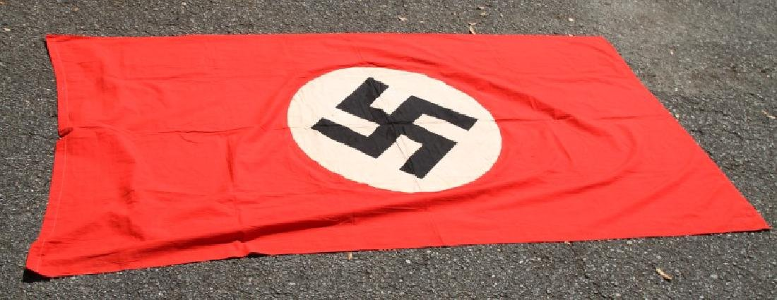 NSDAP WWII GERMAN THIRD REICH PARTY RALLY BANNER - 3