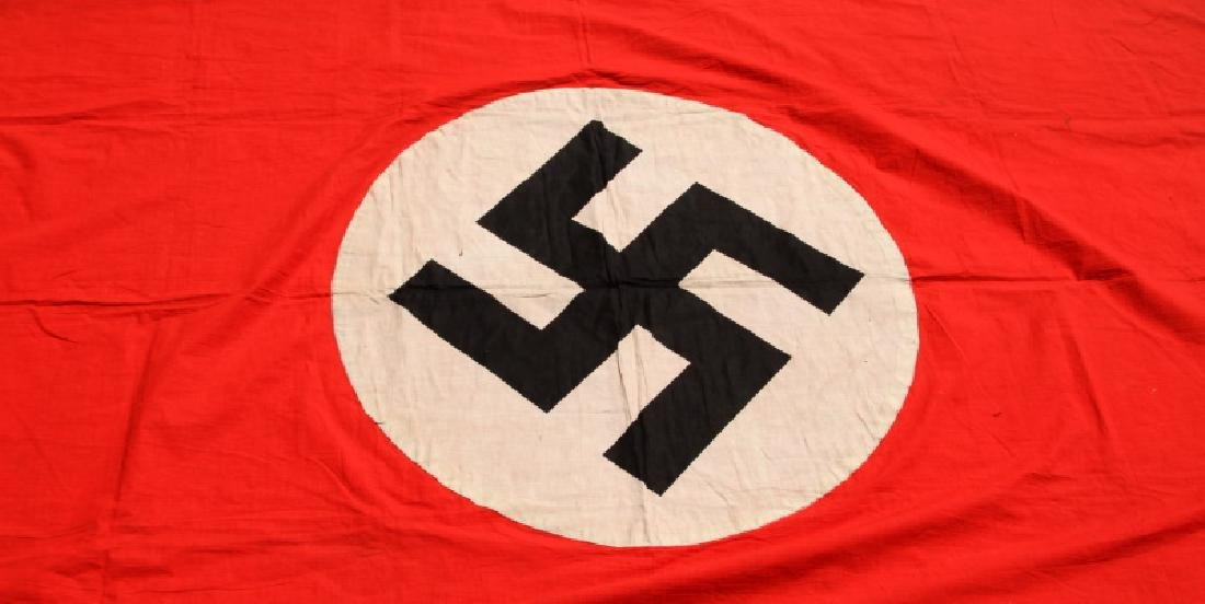 NSDAP WWII GERMAN THIRD REICH PARTY RALLY BANNER - 4