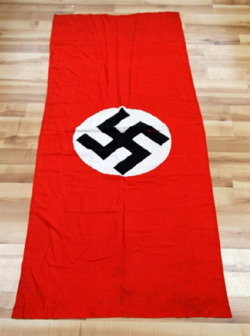 WWII NSDAP GERMAN THIRD REICH RALLY BANNER FLAG