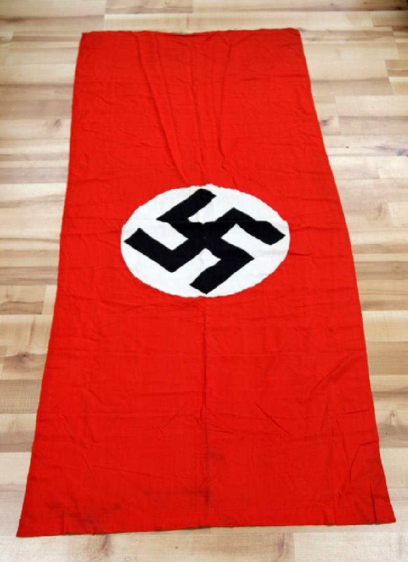 WWII NSDAP GERMAN THIRD REICH RALLY BANNER FLAG - 3