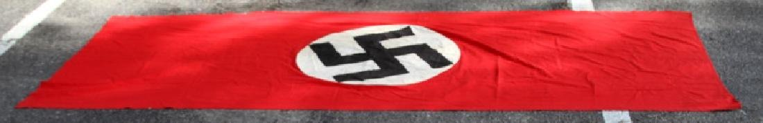 WWII GERMAN THIRD REICH PARTY BUILDING BANNER