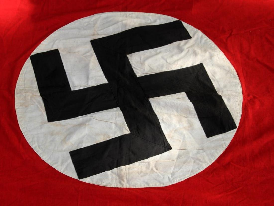 WWII GERMAN THIRD REICH PARTY BUILDING BANNER - 4