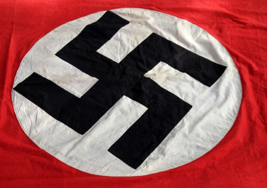 WWII GERMAN THIRD REICH WALL PARTY BANNER FLA G - 5