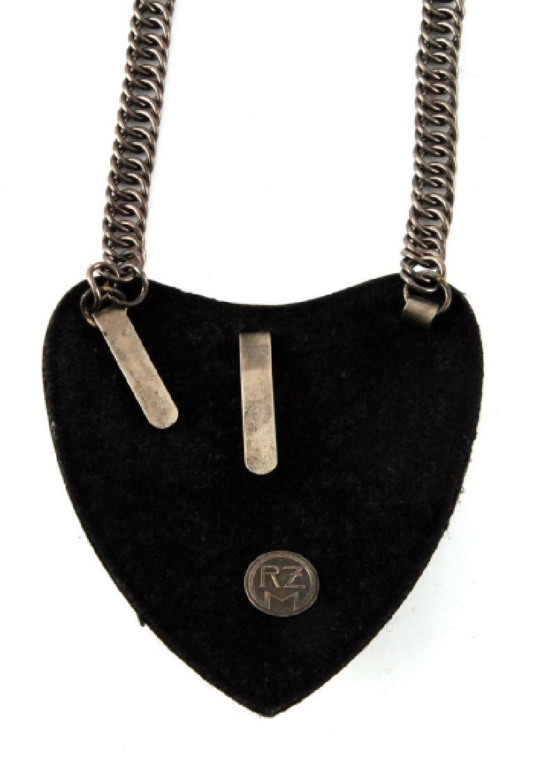 WWII GERMAN THIRD REICH SA GORGET WITH RZM CONTROL - 3