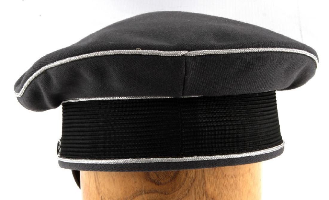 WWII GERMAN 3RD REICH LUFTWAFFE OFFICER VISOR CAP - 4