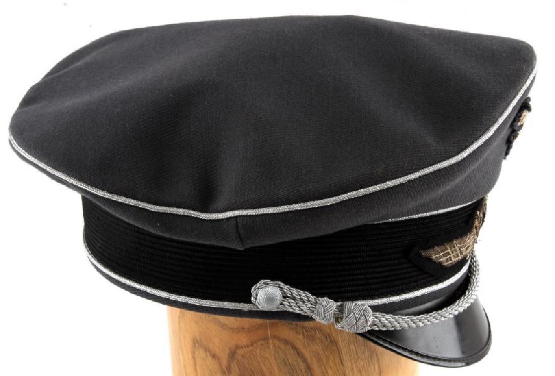 WWII GERMAN 3RD REICH LUFTWAFFE OFFICER VISOR CAP - 5