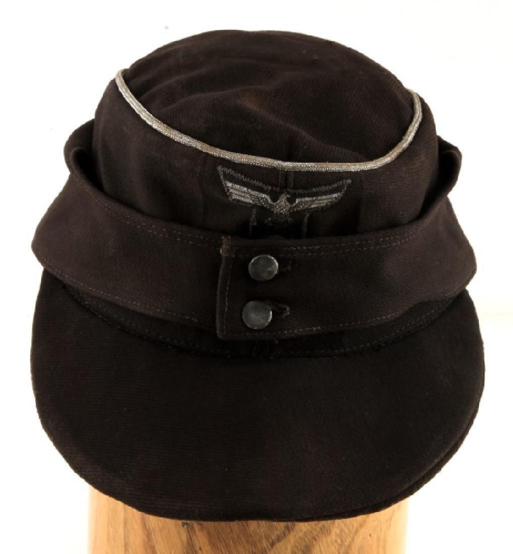 WWII GERMAN THIRD REICH PANZER OFFICER M43 CAP