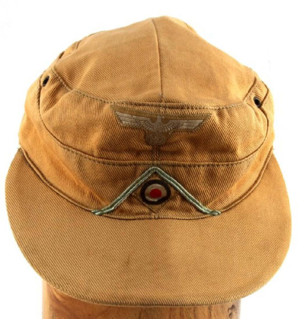 GERMAN THIRD REICH WWII AFRIKA CORPS M-43 CAP