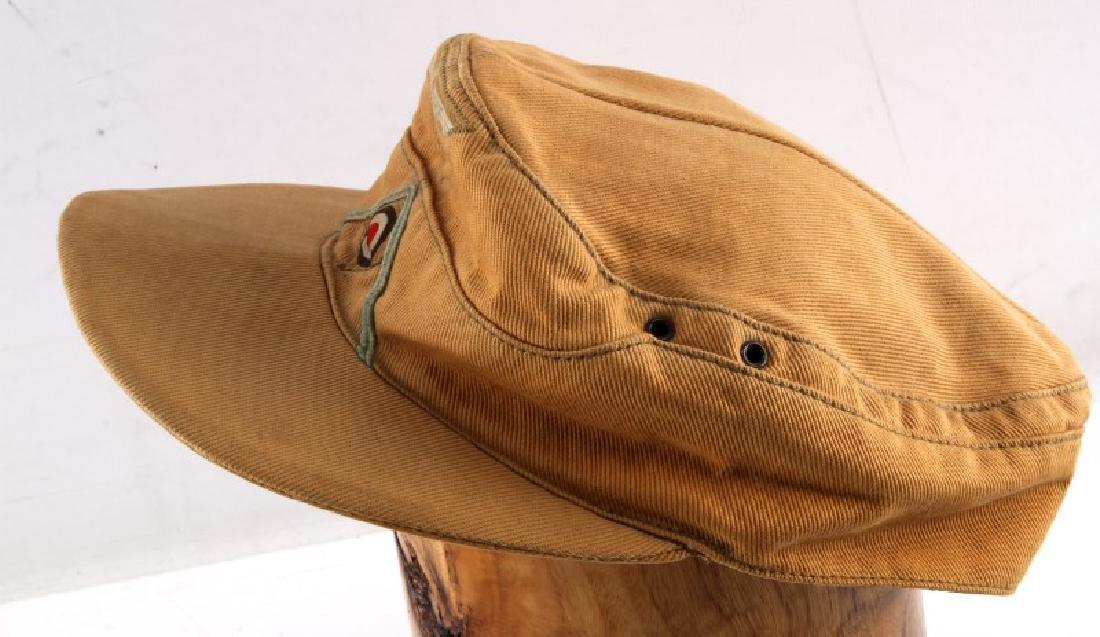 GERMAN THIRD REICH WWII AFRIKA CORPS M-43 CAP - 3