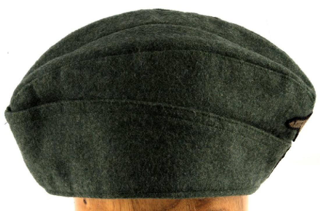 GERMAN WWII WAFFEN SS OVERSEAS CAP WITH NAME - 4