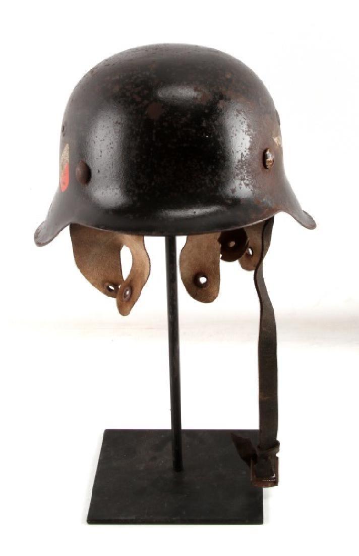 WWII GERMAN THIRD REICH LUFTWAFFE M42 HELMET