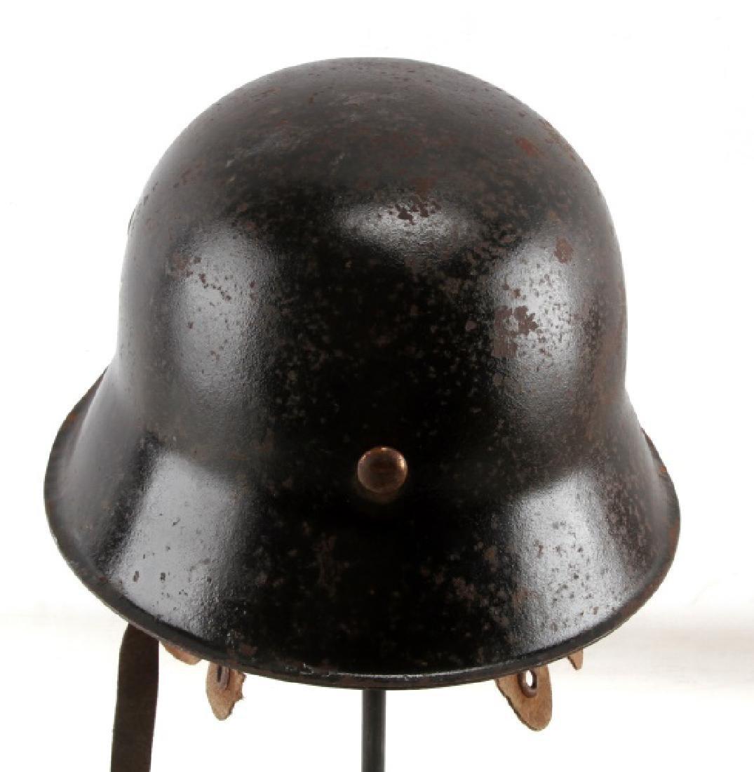 WWII GERMAN THIRD REICH LUFTWAFFE M42 HELMET - 3