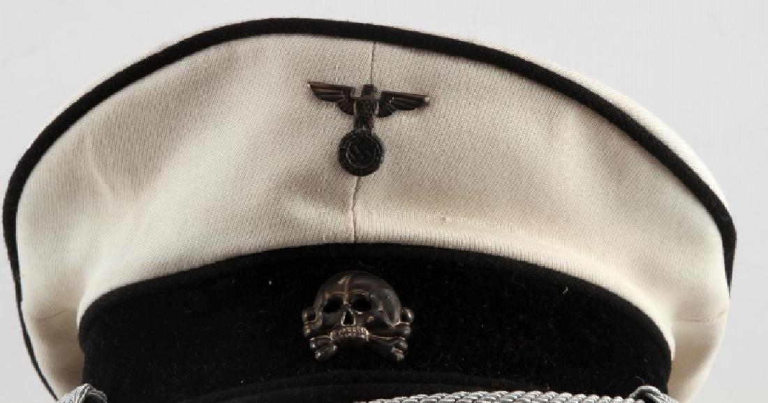 WWII GERMAN THIRD REICH ALLGEMEINE SS SUMMER CAP - 2