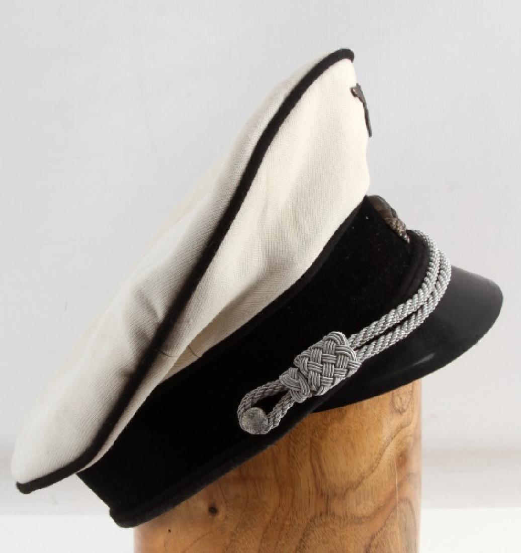 WWII GERMAN THIRD REICH ALLGEMEINE SS SUMMER CAP - 3