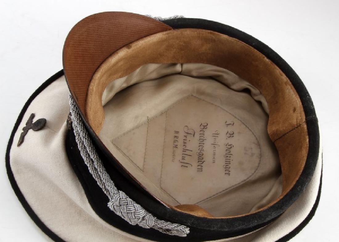 WWII GERMAN THIRD REICH ALLGEMEINE SS SUMMER CAP - 5
