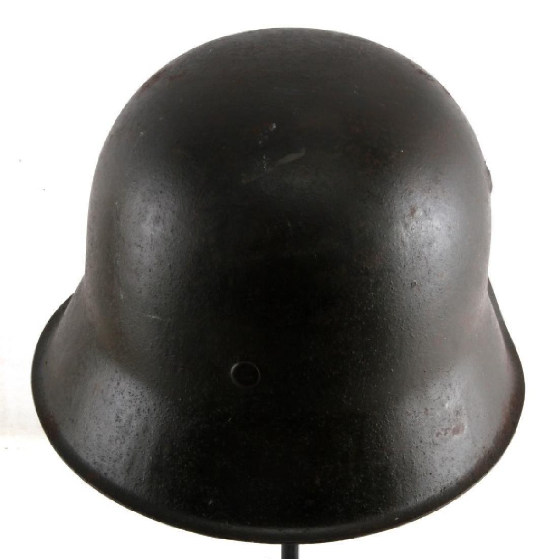 WWII GERMAN THIRD REICH M1942 STAHLHELM HELMET - 3