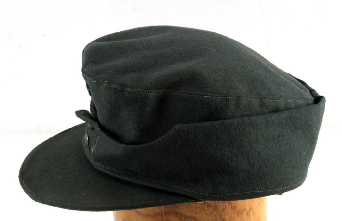 GERMAN WWII M43 SCHUTZMANNSCHAFT FIELD CAP - 3