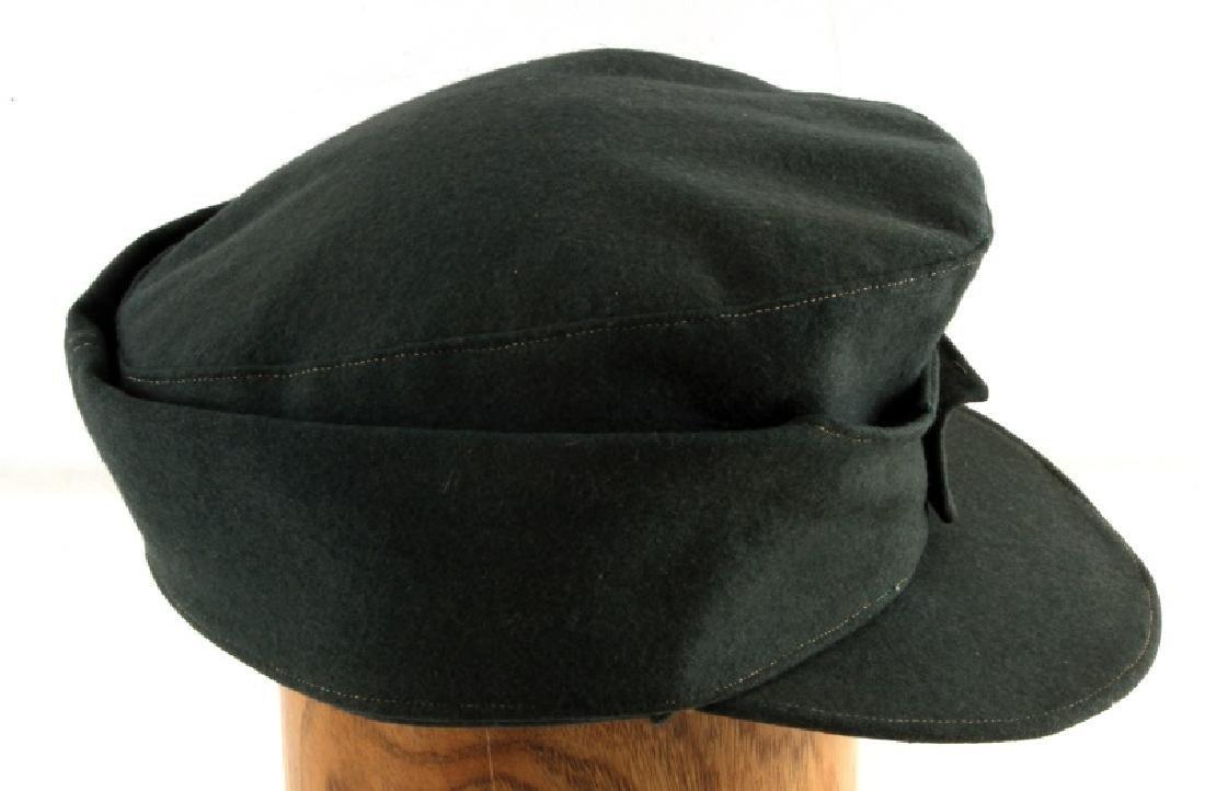 GERMAN WWII M43 SCHUTZMANNSCHAFT FIELD CAP - 5