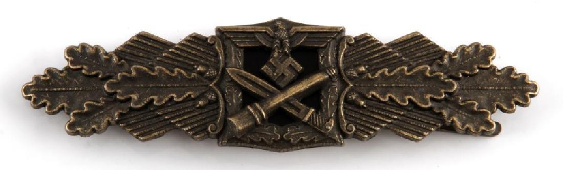 WWII GERMAN THIRD REICH BRONZE CLOSE COMBAT CLASP