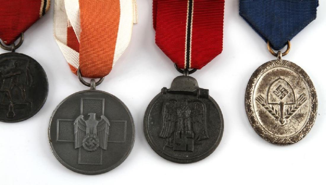 WWII GERMAN THIRD REICH MEDAL LOT OF SEVEN - 3