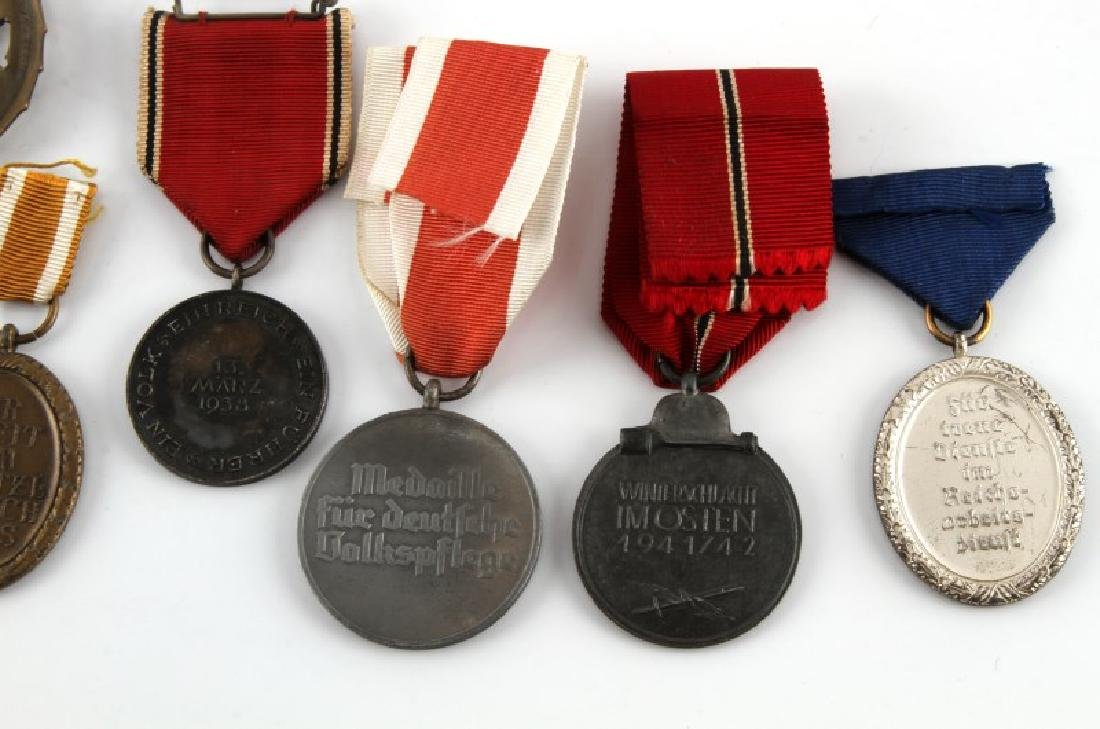 WWII GERMAN THIRD REICH MEDAL LOT OF SEVEN - 5