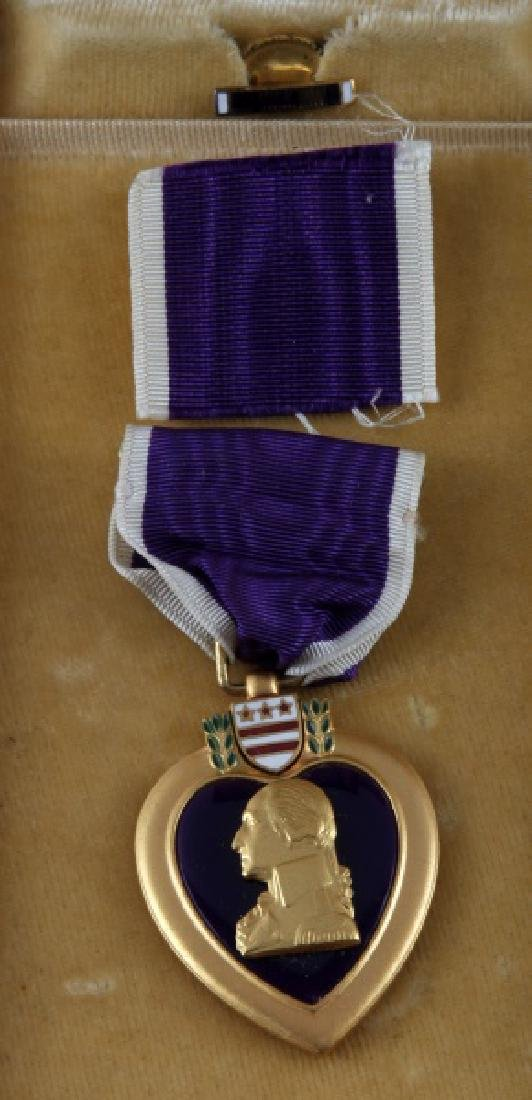 3 PURPLE HEART & 1 BRONZE STAR UNNAMED MEDAL LOT - 2