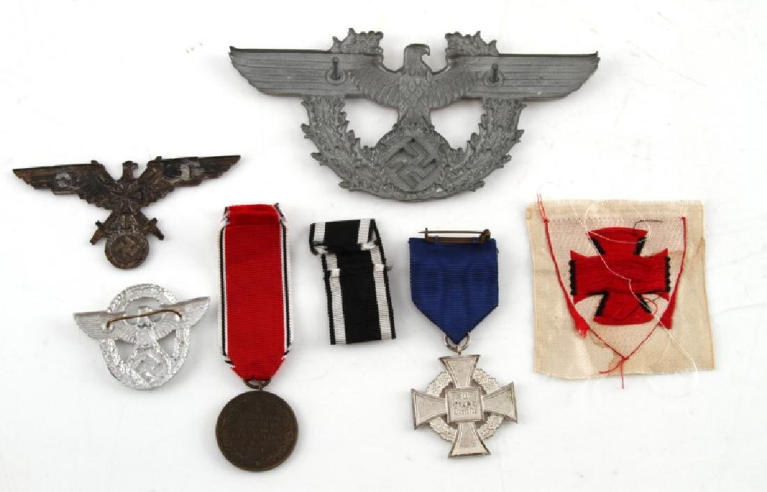 WWII GERMAN THIRD REICH INSIGNIA & MEDAL LOT - 2