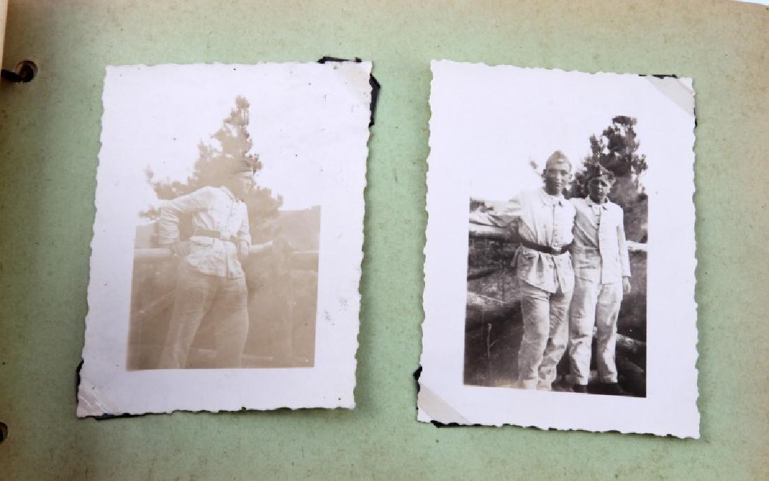 WWII GERMAN NSDAP WEHRMACHT SOLDIERS' PHOTO ALBUM - 4
