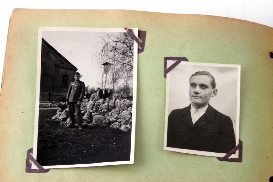 WWII GERMAN NSDAP WEHRMACHT SOLDIERS' PHOTO ALBUM - 6