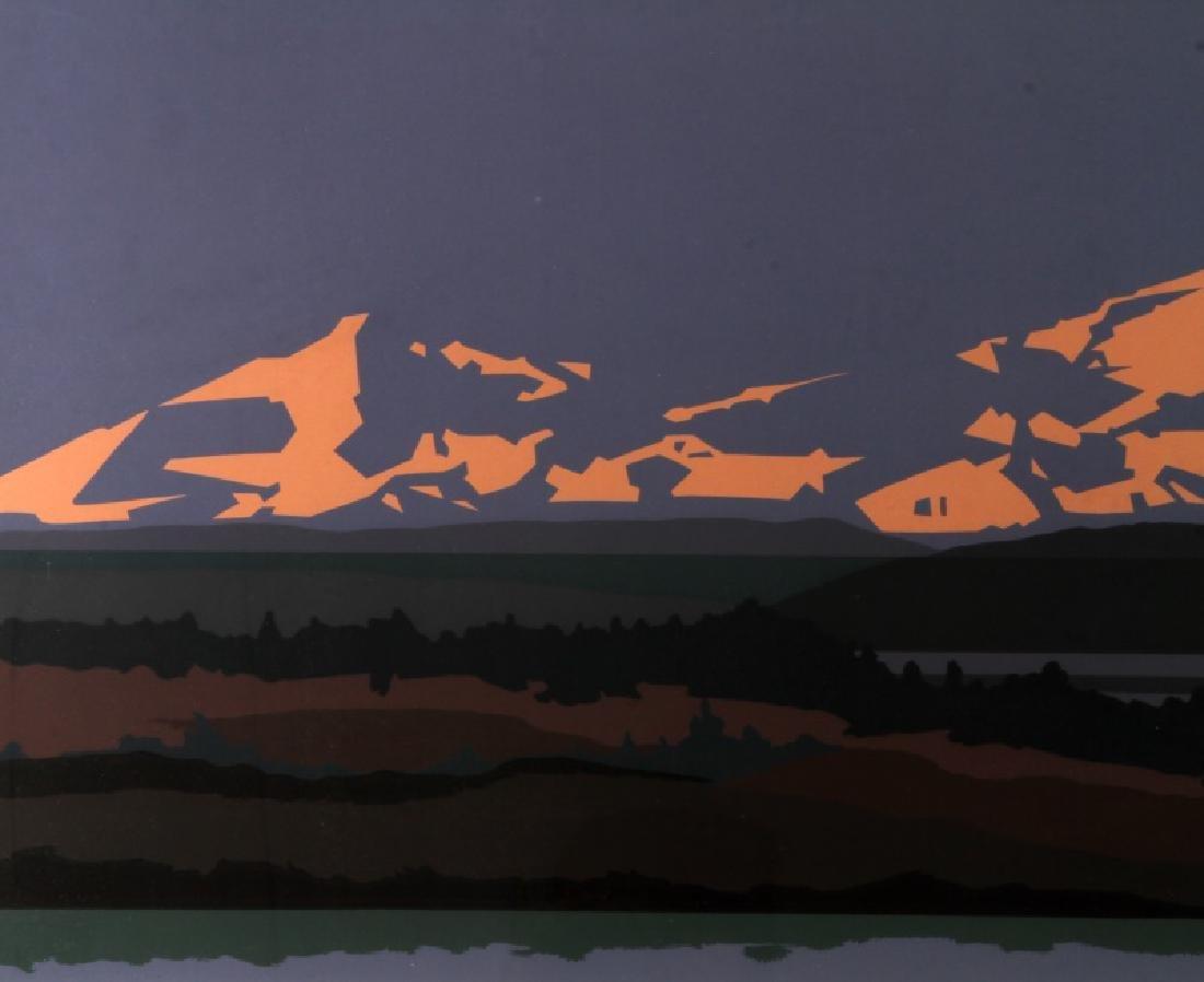 DENALI PRESERVE ALASKA  MODERN ART LANDSCAPE - 3