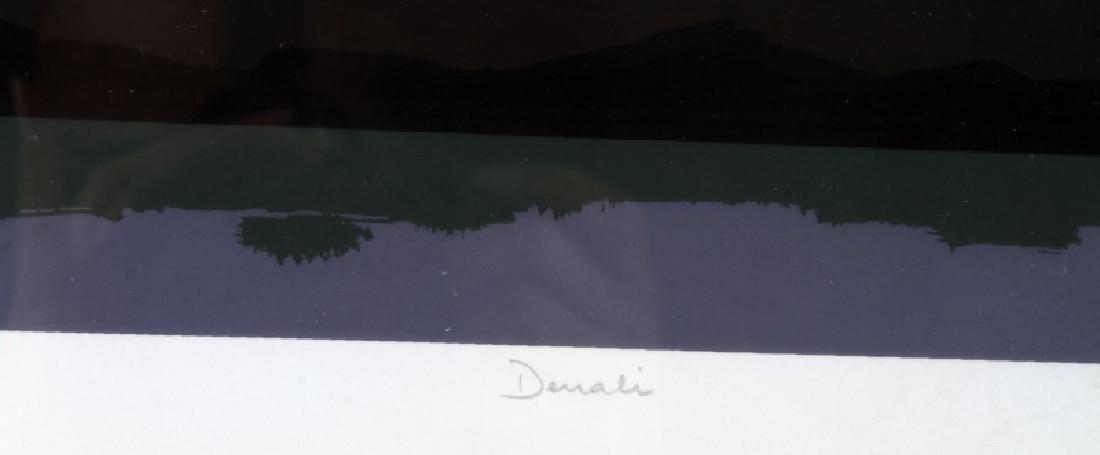 DENALI PRESERVE ALASKA  MODERN ART LANDSCAPE - 5