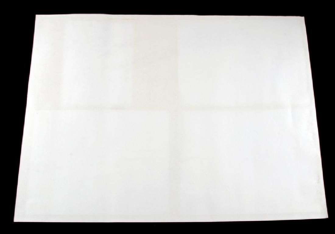 1982 HILL DEER WILDLIFE WATERCOLOR ART PRINT - 4
