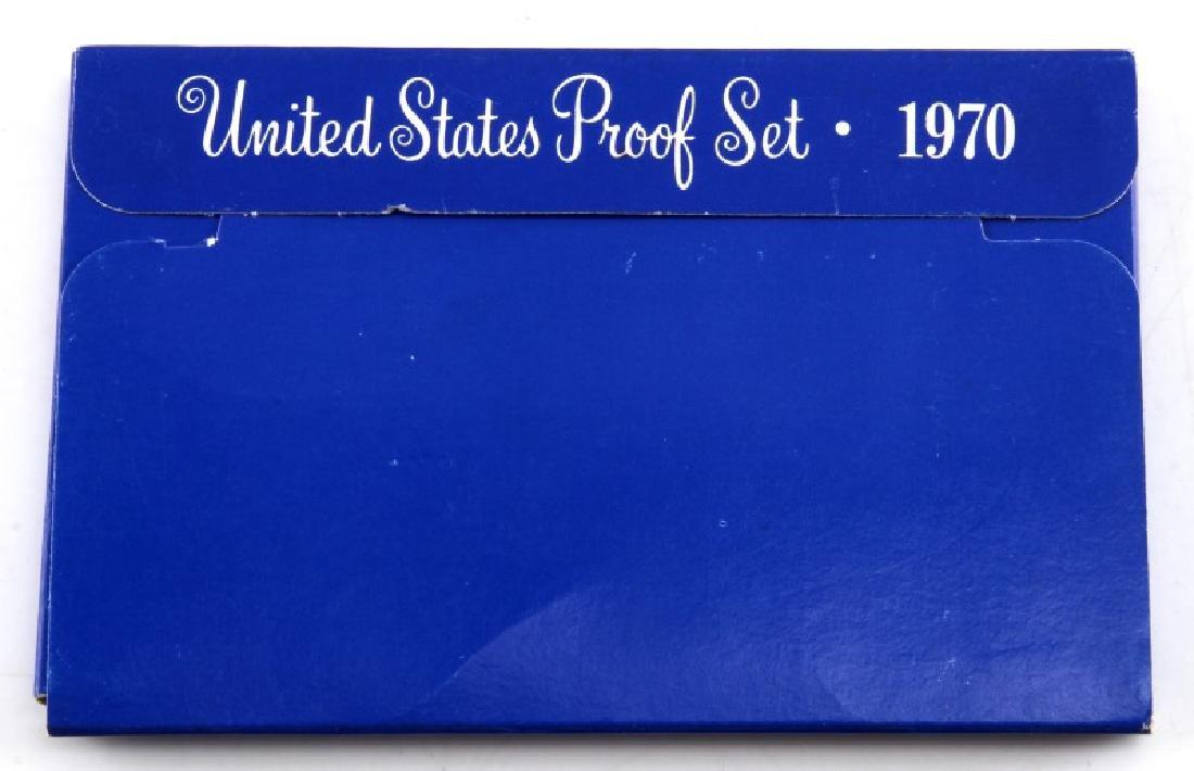 1970 UNITED STATES MINT PROOF SET - 3