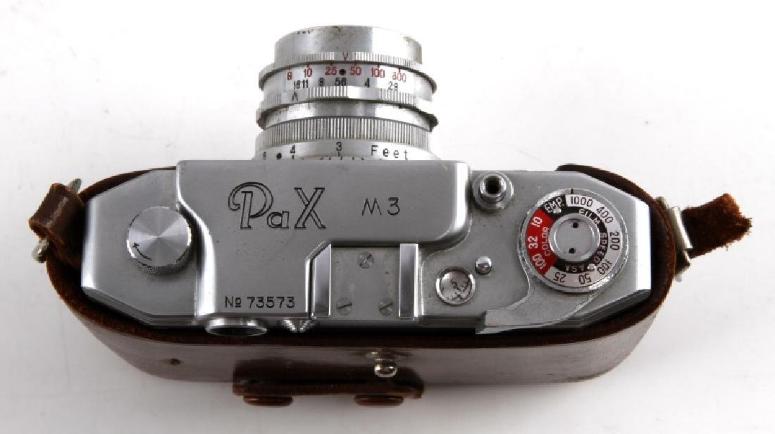 PAX M3 CAMERA WITH LUMINOR ANASTIGMAT LENS IN CASE - 2
