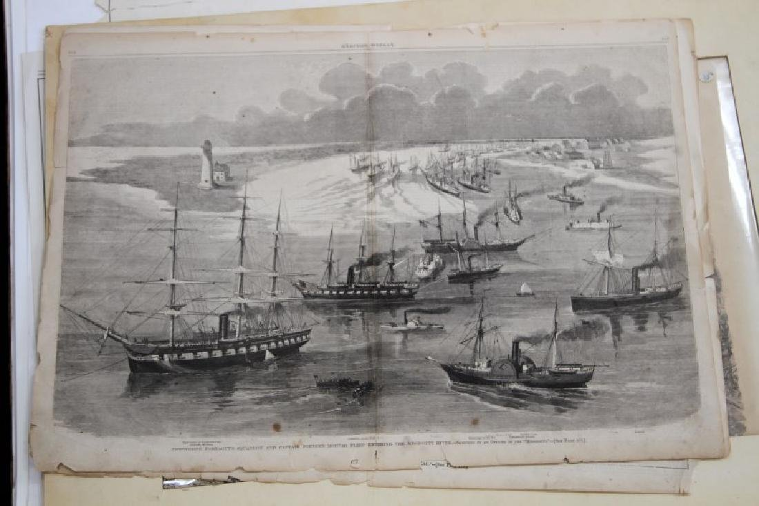 19TH CENT.  EPHEMERA FROM VARIOUS TIME PERIODS LOT - 5
