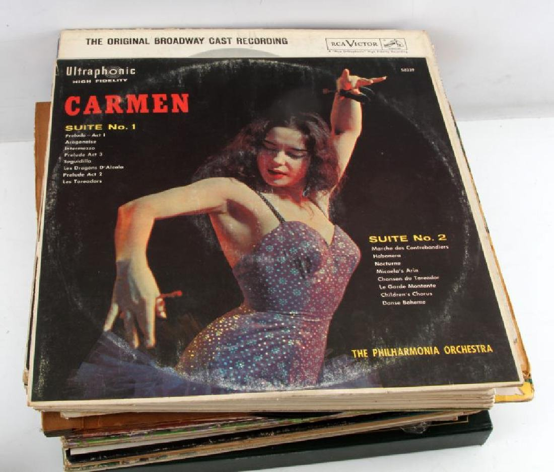 LOT OF OVER 60 VINTAGE TO ANTIQUE VINYL RECORDS - 7