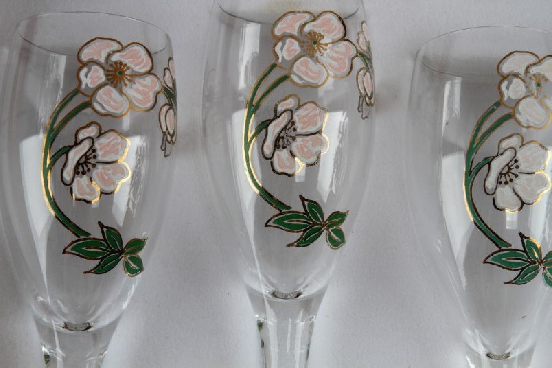 VINTAGE FRENCH PERRIER JOUET CHAMPAGNE FLUTE W BOX - 2
