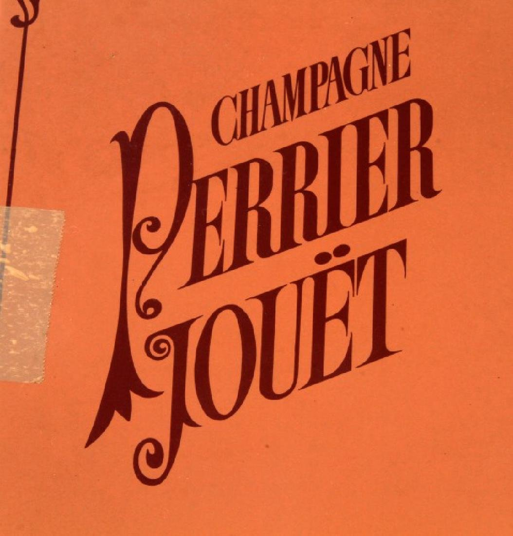 VINTAGE FRENCH PERRIER JOUET CHAMPAGNE FLUTE W BOX - 5