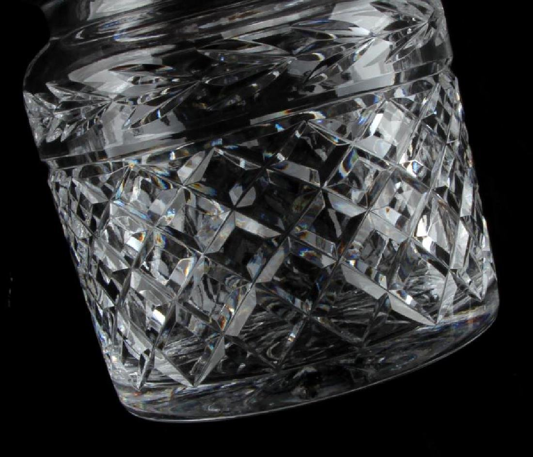 WATERFORD CRYSTAL BISCUIT BARREL WITH LID - 4