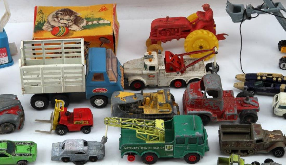 30 VINTAGE TOY LOT LESNEY TOOTSIETOY MICKEY MOUSE - 3