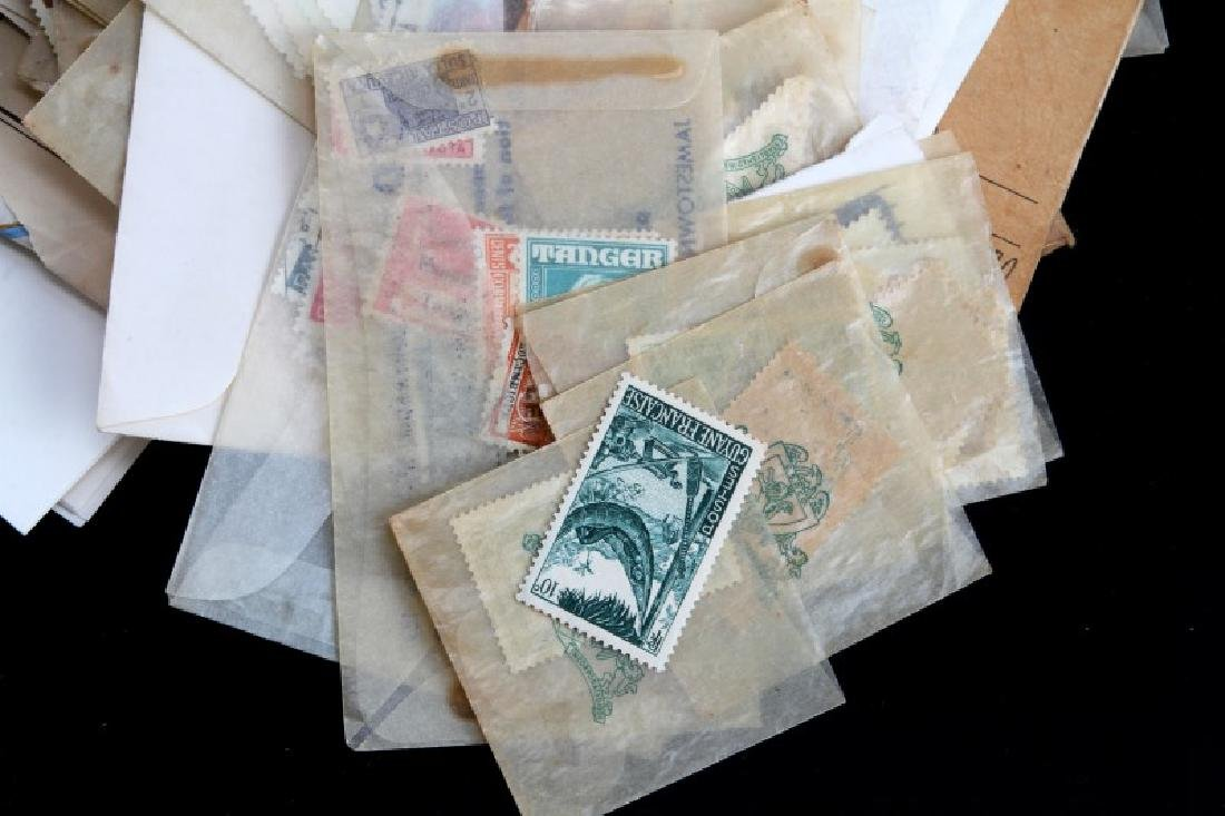 U.S. & WORLD STAMP COLLECTION UNSEARCHED - 2
