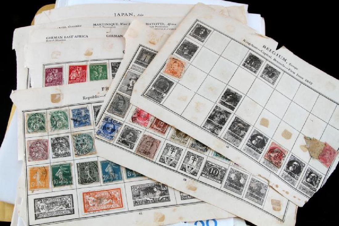 U.S. & WORLD STAMP COLLECTION UNSEARCHED - 4