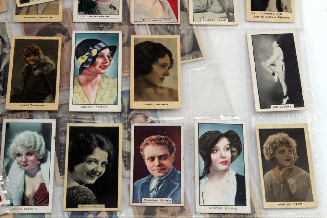 LOT OF 73 CIGARETTE TRADING CARDS ACTORS MOVIESTAR - 3