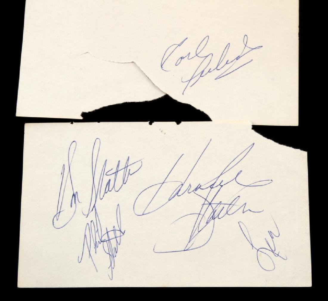 CLASSIC COUNTRY MUSIC SINGER AUTOGRAPH LOT - 3