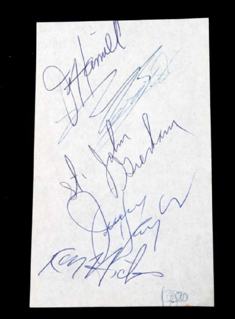 CLASSIC COUNTRY MUSIC SINGER AUTOGRAPH LOT - 4