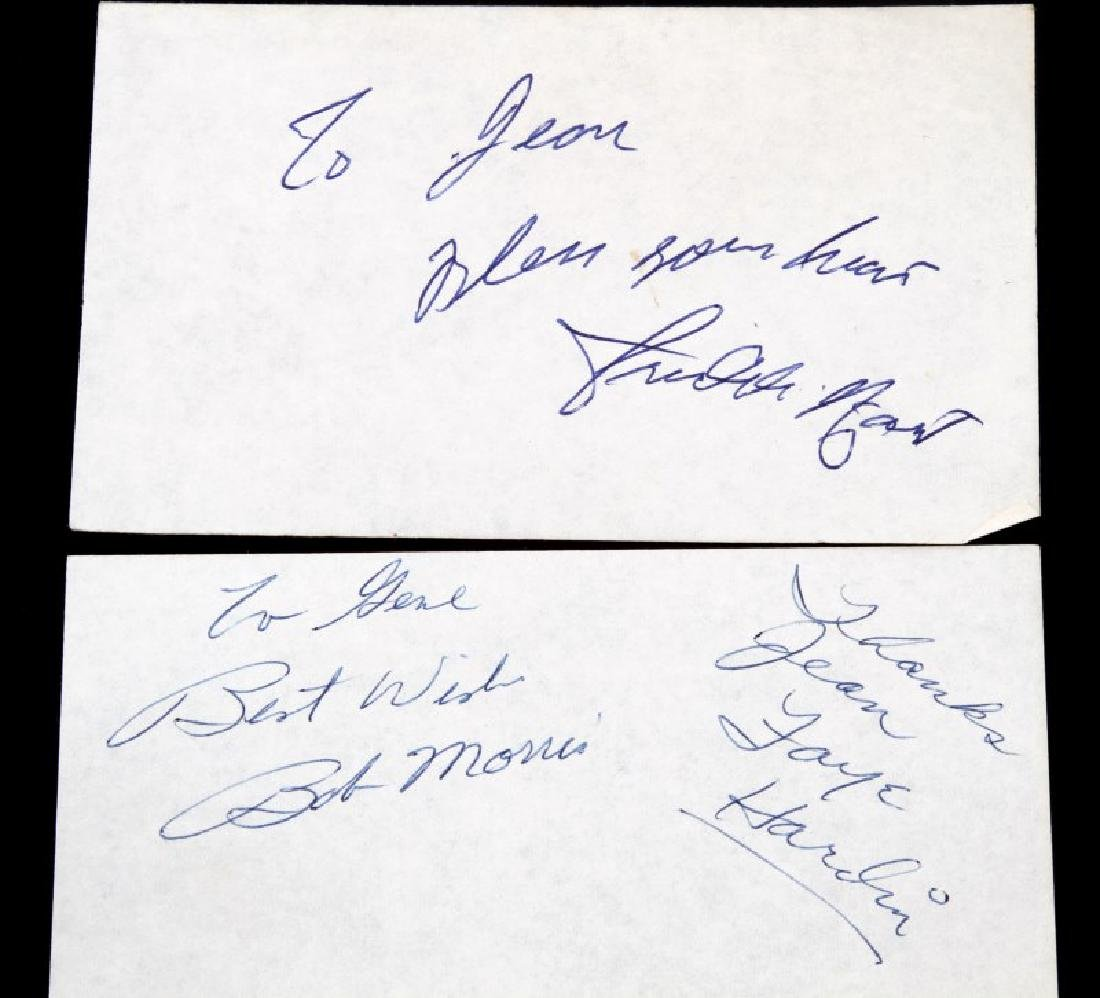 CLASSIC COUNTRY MUSIC SINGER AUTOGRAPH LOT - 5